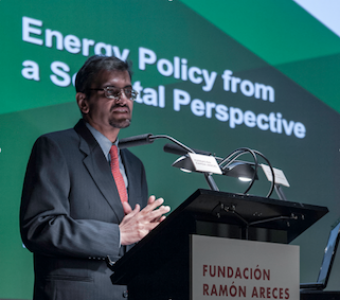 Seminar by Muhammad Saggaf in Madrid: Energy from a Societal Perspective
