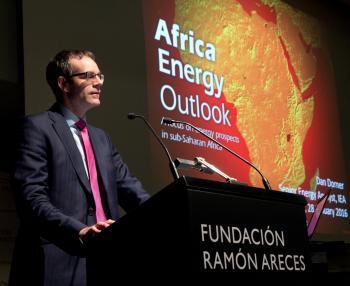 Conferencia de Dan Dorner en Madrid: Perspectivas energéticas para África