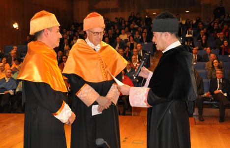 Michael Hanemann Honorary Degree by the University of Vigo