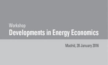 Workshop Academico: 2016 Developments in Energy Economics, Madrid